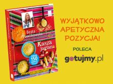 """Żółta jak słońce - """"Kasza jaglana"""" od Beaty Pawlikowskiej"""