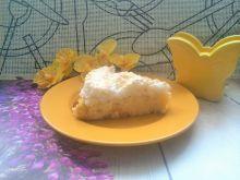 Bezglutenowy sernik z kokosową bezą