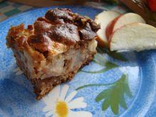 Beztłuszczowe ciasto z jabłkami