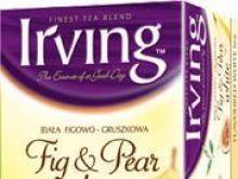 Biała herbata z figami i gruszkami