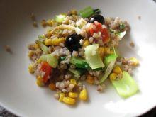 Biała kasza gryczana z warzywami