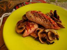 Biała kiełbasa z majerankiem i cebulą
