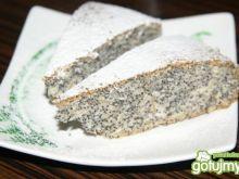 Białkowe ciasto z makiem- inny piegusek