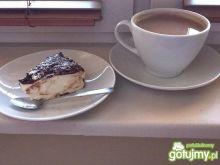 Biały serniczek z nutką czekoladową