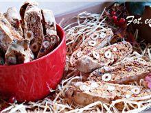 Biscotti z orzechami