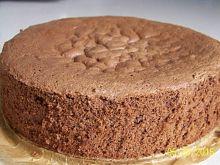 Biszkopt czekoladowy z 3 jaj - najlepszy