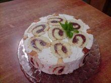 Biszkopt do ciasta twarogowego