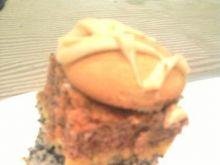 Biszkopt makowo-kokosowy