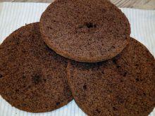 Biszkopt orzechowy z kakao