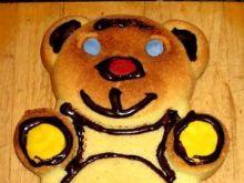 Biszkoptowy misiu dla dzieci