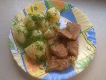 Bitki wieprzowe w sosie własnym