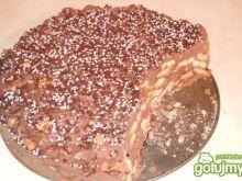 Blok bakaliowo czekoladowy
