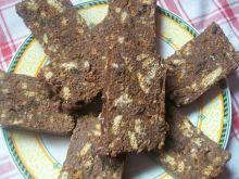 Blok czekoladowy z orzechami i otrębami