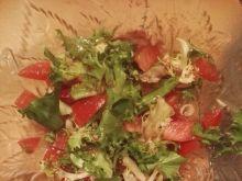 Błyskawiczna sałatka warzywna