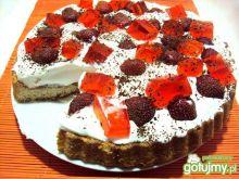 Błyskawiczne ciasto z truskawkami