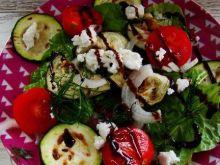Boćwina z grillowanymi warzywami
