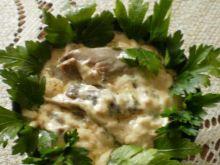 Boczniakowy sos na skróty :