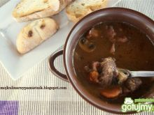 Boeuf Bourguignon wg Julie Child
