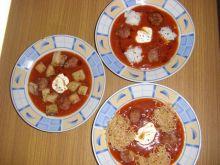 Bolońska pomidorówka z trzema wkładkami