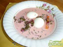 Botwinka z jajeczkiem