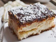 Bounty - smak raju, ciasto kokosowe bez pieczenia