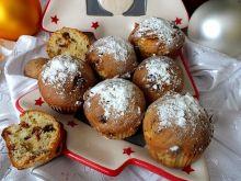 Bożonarodzeniowe muffinki z bakaliami