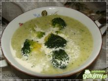 Brokułowa krem z mimolette