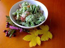 Brokułowa sałatka do obiadu