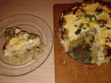 Brokułowa zapiekanka z makaronem