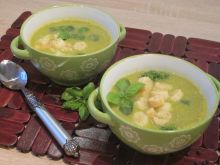 Brokułowa zupa- krem