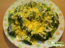 Brokuły pod pierzynką
