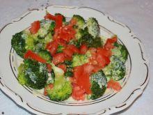 Brokuły w lekkim sosie