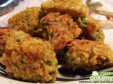 Brokuły w płatkach kukurydzianych