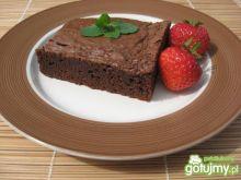 Brownie, amerykański czekoladowy deser