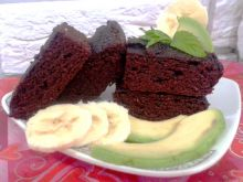 Brownie Fit Bezglutenowe i z Avocado