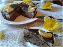 Brownie pod czekoladową czapą