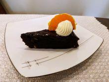 Brownie z pomarańczową nutą