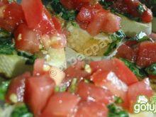 Bruschetta szpinakowo-pomidorowa