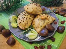 Bryndzylki z żurawiną i kasztanami