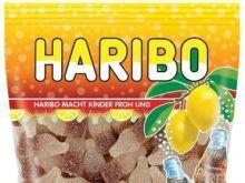Brzoskwiniowe kwaśne żelki Haribo