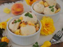 Brzoskwiniowe lody