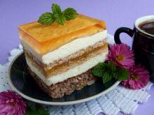 Brzoskwiniowo-orzechowy raj z nutą ajerkoniaku