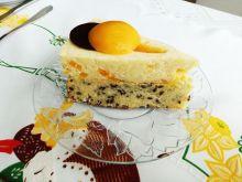 Brzoskwiniowy tort jaglany
