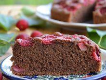 Budyniowe ciasto z wiśniami