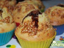 Budyniowe muffiny z niespodzianką