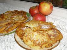 Budyniowe placuszki waniliowe z jabłkiem