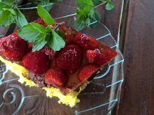 Budyniowe z galaretką i owocami