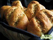 Bułeczki czosnkowo  - ziołowe