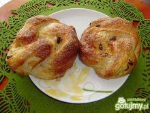Bułeczki drożdżowe z cukrem i cynamonem