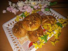Bułeczki z masełkiem czosnkowo -ziołowym